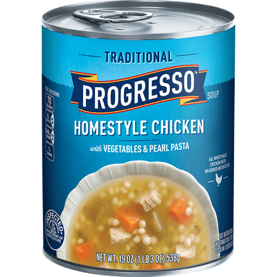 Progresso™ Traditional Homestyle Chicken with Vegetables & Pearl Pasta Soup