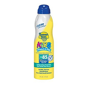 Banana Boat Kids UltraMist Clear Continuous Spray With SPF 85