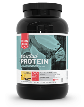 Iron Tek Essential Protein Vanilla