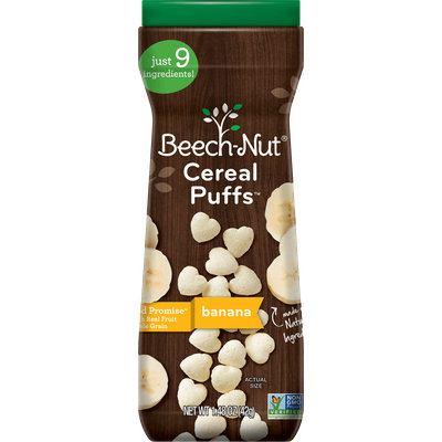 Beech-Nut® Banana Cereal Puffs™