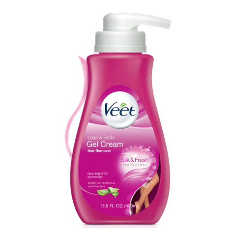 Veet® Fast Acting Gel Cream Hair Remover (Sensitive Formula)