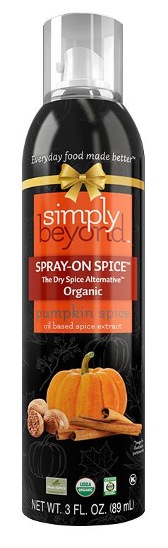 Simply Beyond Organic Spray-On Spice® Pumpkin Spice