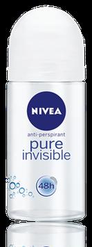 NIVEA Pure Invisible Roll-On Deodorant