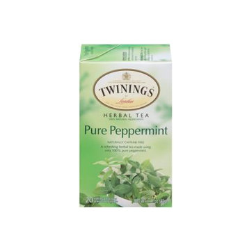TWININGS® OF London Pure Peppermint Tea Bags