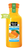 Minute Maid® Pure Squeezed No Pulp Orange Juice with Calcium & Vitamin D