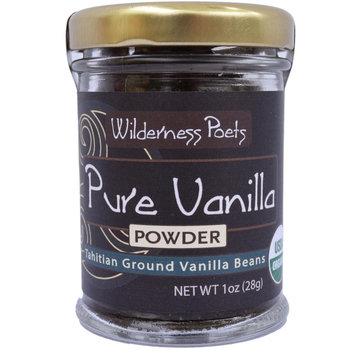 Wilderness Poets Pure Vanilla Powder