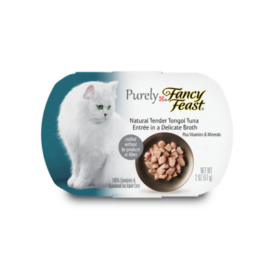 Fancy Feast® Natural Tender Tongol Tuna Wet Cat Food In A Delicate Broth