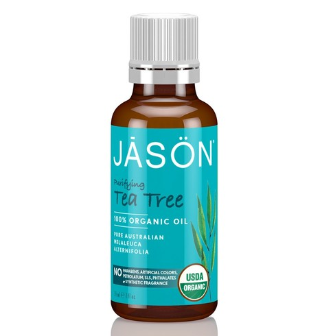 JĀSÖN Purifying Tea Tree 100% Organic Oil (USDA Certified)