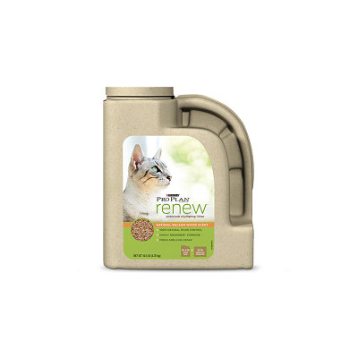 PRO PLAN® RENEW™ Premium Clumping Litter Natural Balsam Wood Scent Formula