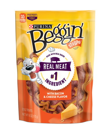 Beggin'®  Strips® Bacon & Cheese Flavors Dog Treats