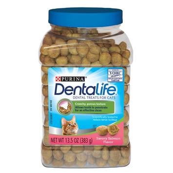 Purina® DentaLife Salmon Dental Cat Treats