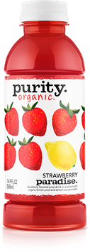 Purity Organic Strawberry Paradise Flavored Juice Drink