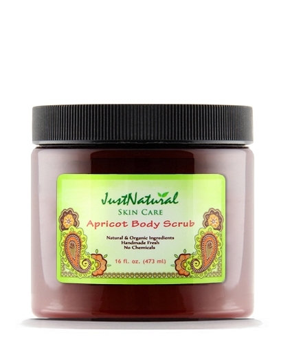 Just Natural Products Apricot Body Scrub