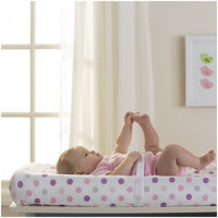 BreathableBaby Wick-Dry Changing Pad Cover- Pink Dot