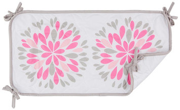 BreathableBaby Breathable Sheet Saver - Dahlia