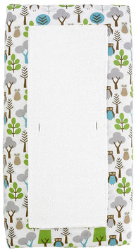 DwellStudio Owls Changing Pad Cover