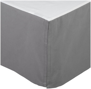 DwellStudio Skyline Solid Canvas Crib Skirt