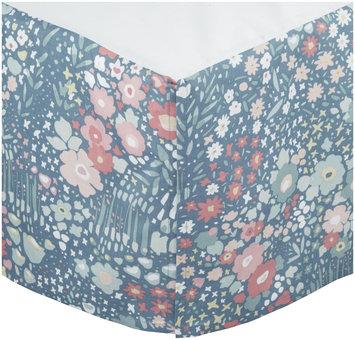 Dwellstudio Posey Percale Crib Skirt