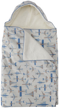 DwellStudio Hooded Towel - Flight Sky