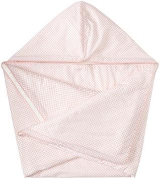 DwellStudio Hooded Towel - Check Blossom