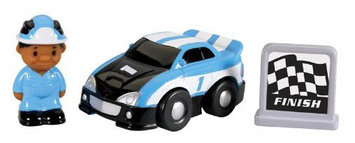 Kid Galaxy GoGo City Race Car single with accessories