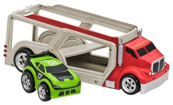 Kid Galaxy Car Carrier w 1 car - Red - 1 ct.
