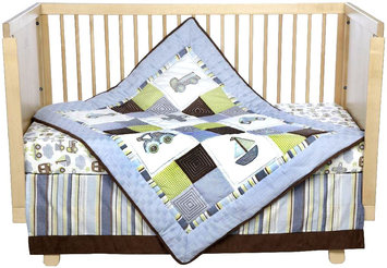 Kids Line, Llc Kids Line Mosaic Transport 9 Piece Crib Set