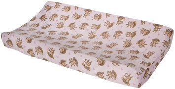 Carter's Changing Pad Cover - Girl Monkey
