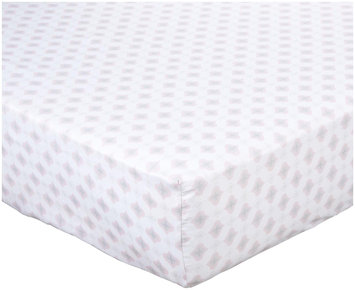 Kids Line Dena Lily Fitted Sheet- Pink