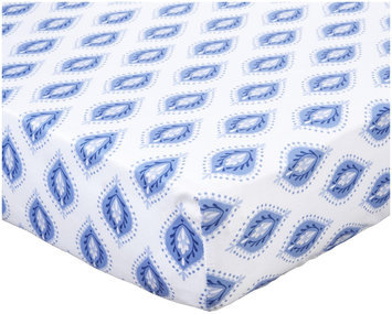 Kids Line Indigo Fitted Sheet- Indigo - 1 ct.