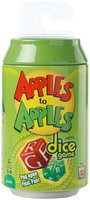 Mattel Games Apples to Apples Dice Game