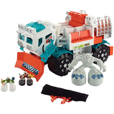 Mattel Matchbox Big Boots Yeti Catcher Truck