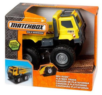 Matchbox Rev Rigs Flatbed Truck