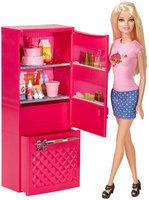 Barbie Doll and Fridge Set