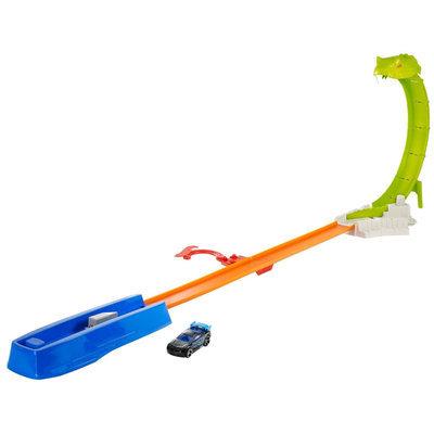 HOT WHEELSA Track Builder - Snake Smashera ¢ Track Set