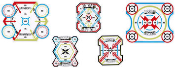 BOOMco Smart Stick Target Sticker Pack 1