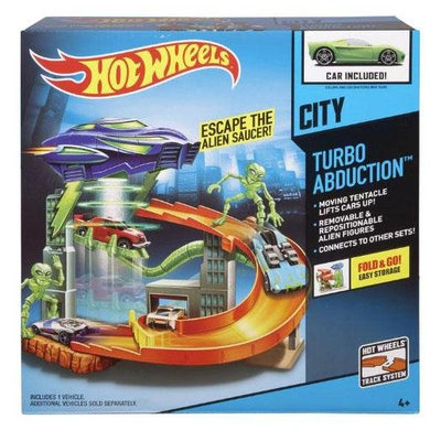 Hot Wheels City Turbo Abduction Playset