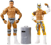 WWE Battle Pack: Sin Cara vs. Alberto Del Rio with Trash Can