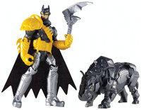 Batman Unlimited: Batman and Axe Rhino Action Figures