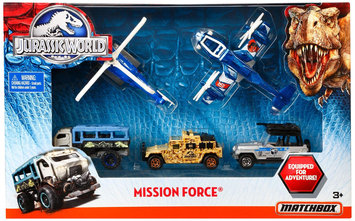 Matchbox Jurassic World Mission Force Vehicle Pack