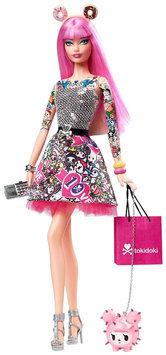 Mattel Barbie Tokidoki Doll - Pink