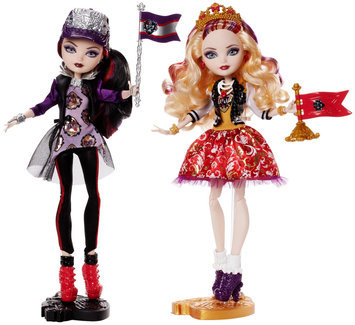 Ever After High School Spirit Apple White and Raven Queen Doll, 2-Pack