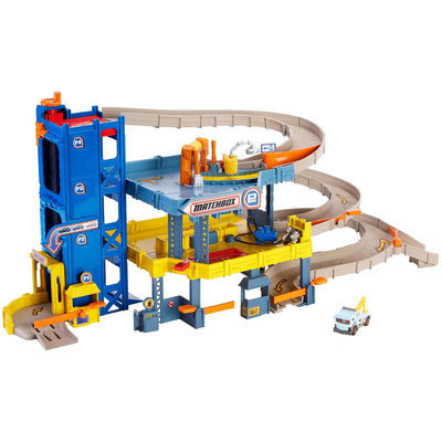 Mattel Matchbox Mission: 4-Level Garage Playset