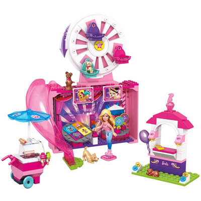 Mega Bloks Barbie Puppy Adventure Festival