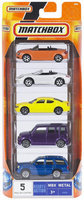 Mattel Matchbox 5 Car Pack - Styles May Vary