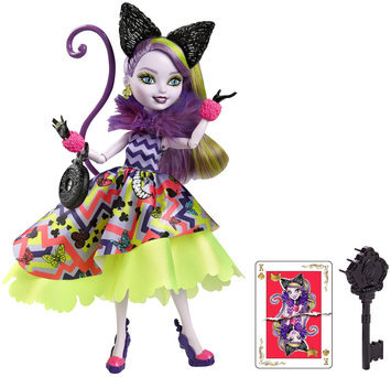 Ever After High Way Too Wonderland Kitty Chesire Doll - 1 ct.