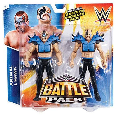 WWE Battle Pack: Animal vs. Hawk 2-Pack