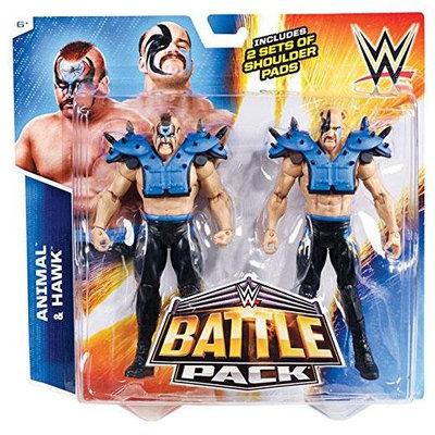WWE Battle Pack: Animal vs. Hawk 2-Pack