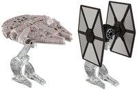 Mattel Hot Wheels Star Wars First Order Tie Fighter vs. Millennium Falcon