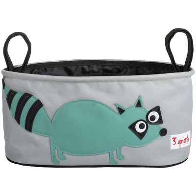 3 Sprouts Stroller Organizer - Raccoon - 1 ct.